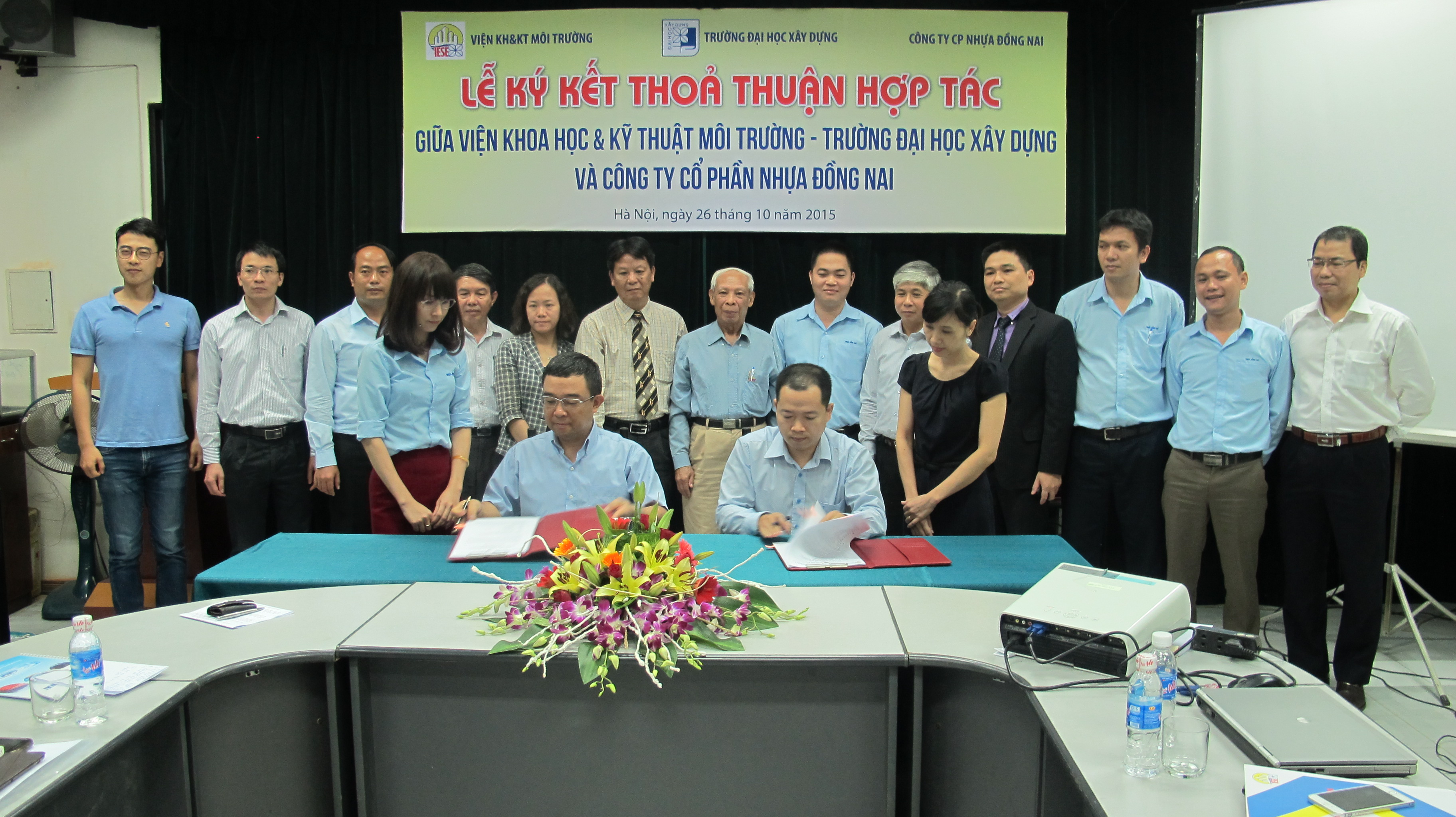 Ký kết thỏa thuận hợp tác toàn diện với CTCP Nhựa Đồng Nai