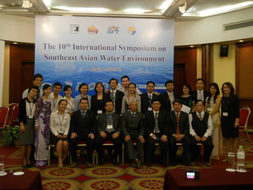 Bộ môn CTN chủ trì Hội thảo quốc tế SAWE, 2012