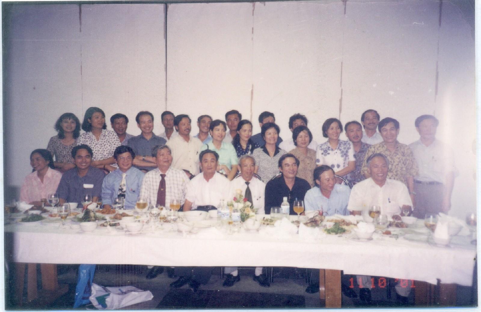 Gặp gỡ với lớp 20CTN năm 2001