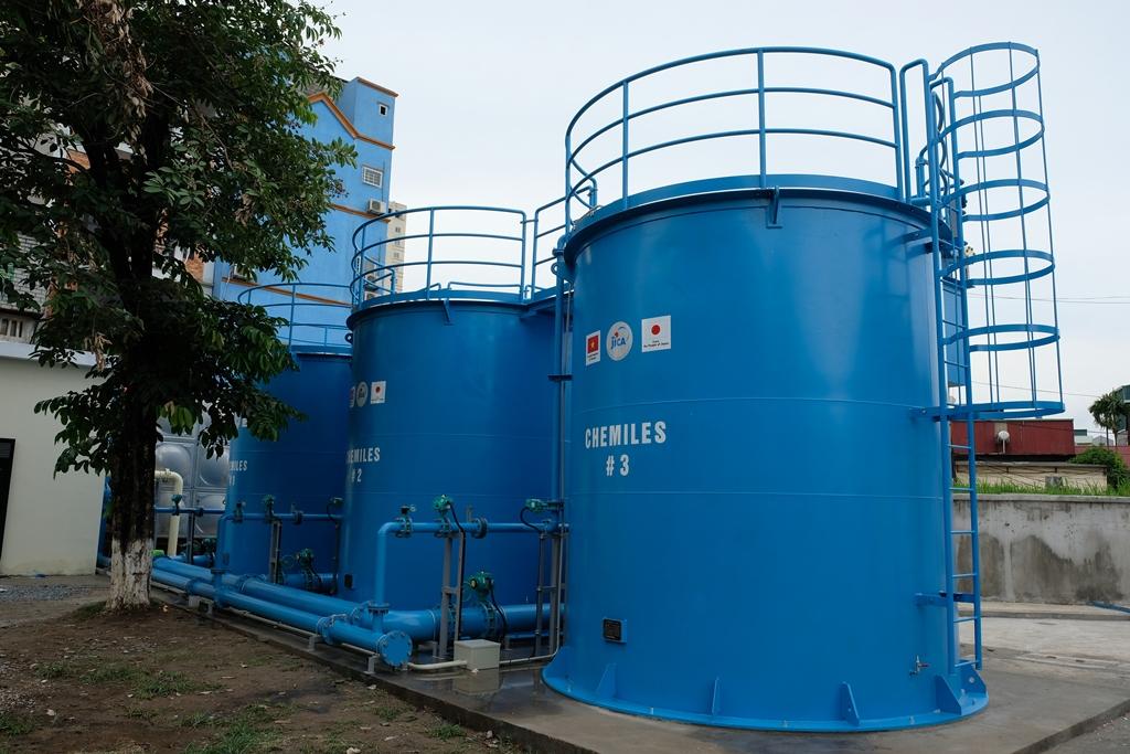 Hệ thống lọc cao tải CHEMILES công suất 2500 m3/ngđ