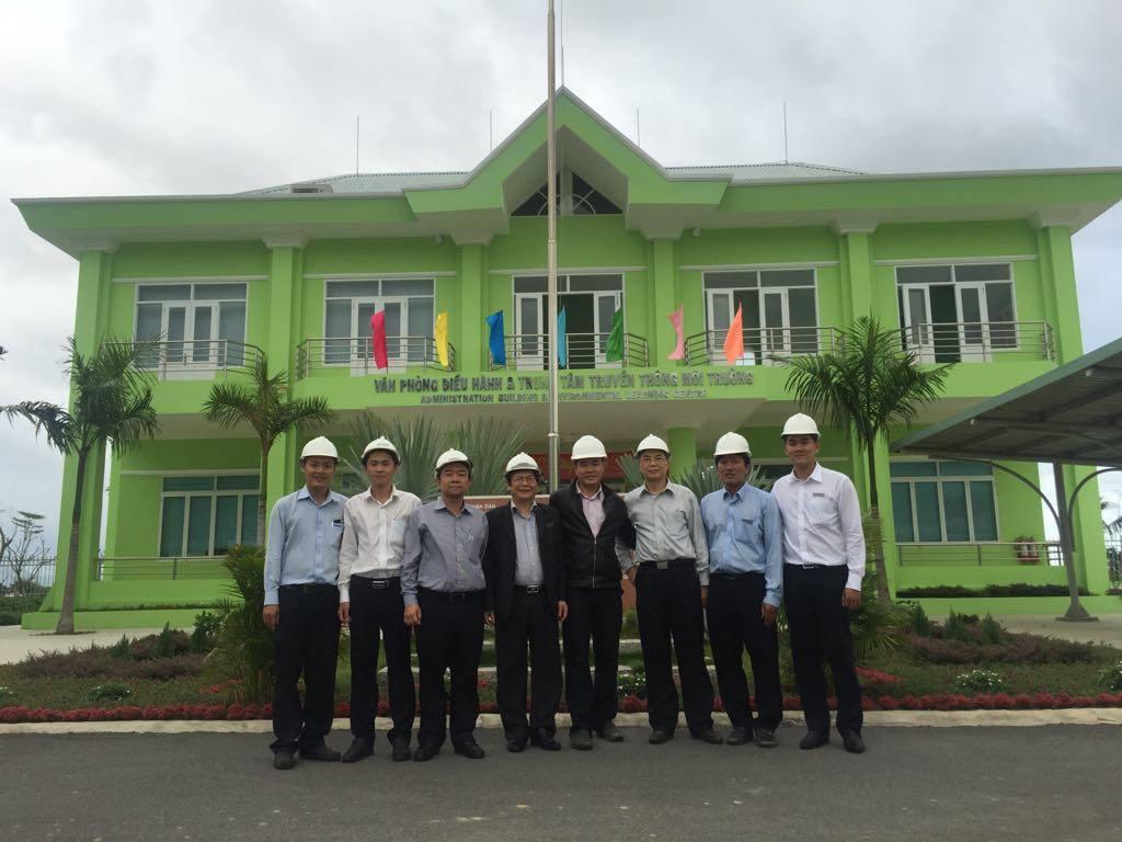 Thăm quan NM XLNT phía Nam Nha Trang